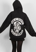 Oversize Sons of anarchy hoodie