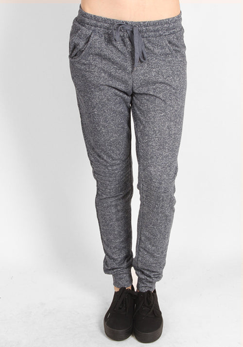 Blue Grainy Super Soft Sweatpants
