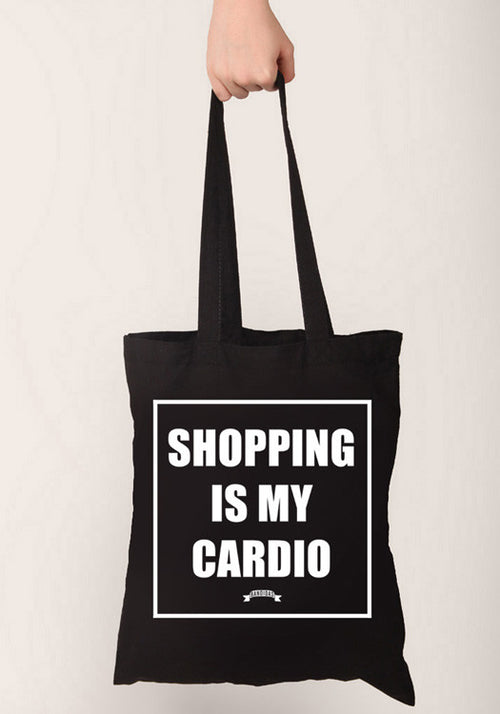BANDIDAS TOTE BAG - SHOPPING IS MY CARDIO