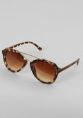 Brown tortoise moderno sunglasses