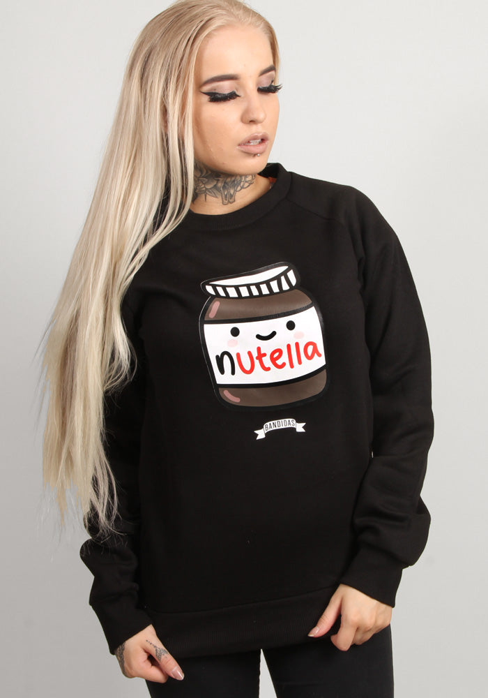 Nutella sweater in black