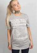 Hiphop tee in grey