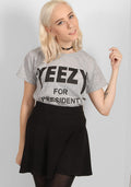 Yeezy For President t-shirt in grey