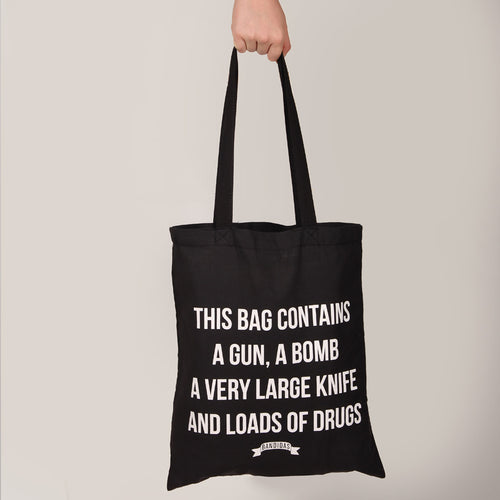BANDIDAS TOTE BAG - DANGER