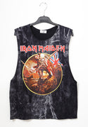 Flag rock band tank top