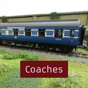 Coaches O gauge 0 gauge
