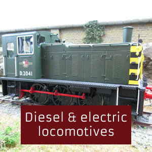 Diesel & electric locomotives O gauge 0 gauge