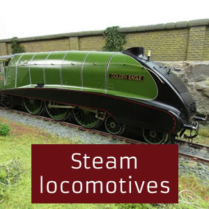 Steam locomotives O gauge 0 gauge