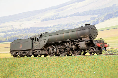 Kit/Scratch Built Finescale O Gauge BR (Ex-LNER) V2 2-6-2 '60853', DCC Sound & Weathered