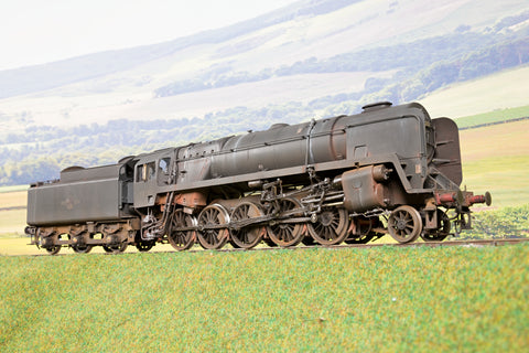 55H Finescale O Gauge BR Black 9F '92233', Weathered