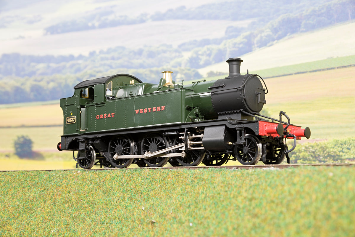 Masterpiece Models 7mm Finescale O Gauge GWR 45XX 2-6-2T '4537', DCC Sound