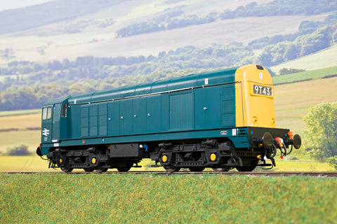 Heljan Finescale O Gauge 2012 Class 20 Blue W/Full Yellow Ends