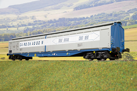 Heljan 7mm Finescale O Gauge 5053 IWB Cargowaggon GB-Continent '2797 589'