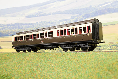Lee Marsh Model Co. O Gauge GWR Dia C17 Full 3rd Clerestory Coach '3133', 1927 Livery