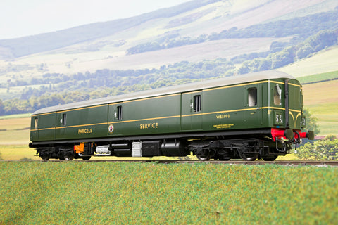 Heljan Finescale O Gauge 8910 Class 128 DPU 'W55991' BR Green W/'Single' Speed Whiskers, DCC Sound