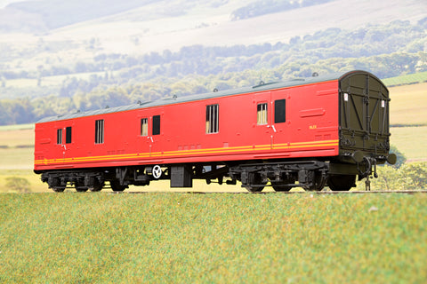Heljan Finescale O Gauge 4990 BR Mk1 GUV, Parcels Red