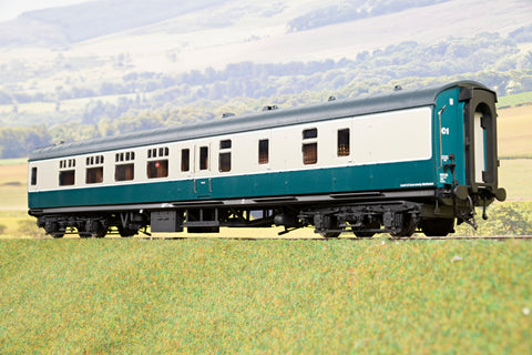 Heljan Finescale O Gauge 4922 BR Mk1 BSK (Brake Second Corridor), Blue & Grey