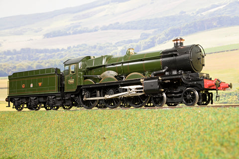 Masterpiece Models O Gauge GWR 70xx Castle Class '7000' 'Viscount Portal', DCC Sound