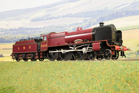 Lee Marsh Models 7mm Finescale O Gauge LMS Patriot '5540' 'Sir Robert Turnbull', DCC Sound