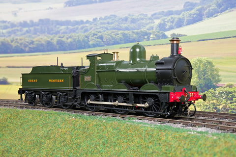 Kit Built Finescale O Gauge GWR Green 0-6-0 Dean Goods '2322'