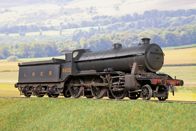 Kit Built Finescale O Gauge LNER 2-6-0 K1 Class '4632', Weathered & DCC Sound (TLC Needed)