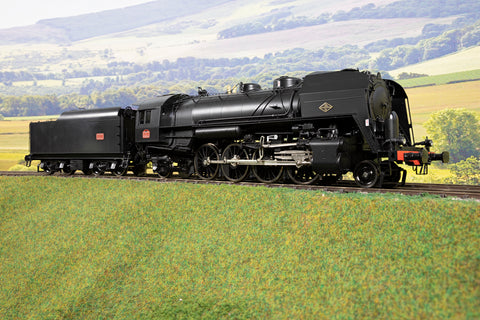 Sunset Models Finescale O Gauge SNCF 141R 2-8-2, 2-Rail with QSI Sound & Smoke