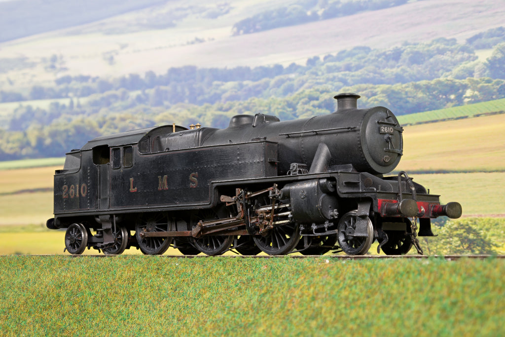 Scratch Built Finescale O Gauge LMS Stanier 4P '2610', Weathered