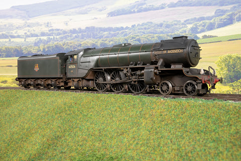 DJH 7mm Finescale O Gauge BR Lined Green A2/2 '60506' 'Wolf of Badenoch', DCC Sound & Weathered