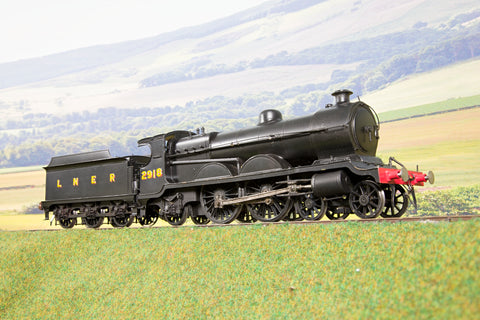 Kit Built Finescale O Gauge LNER Ex GCR Robinson 4-4-2 C4 '2918', DCC Sound