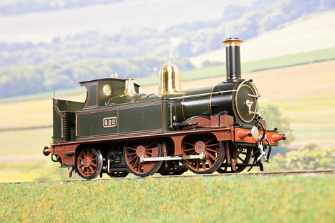 Lee Marsh Model Co. O Gauge Early GWR 517 Class 0-4-2 '522' DCC Sound!
