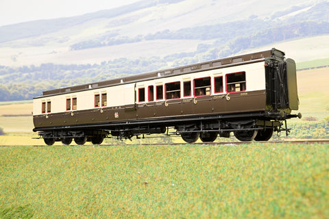 Lee Marsh Model Co. O Gauge GWR Dia D20 Brake 3rd Clerestory Coach, 1927 Livery