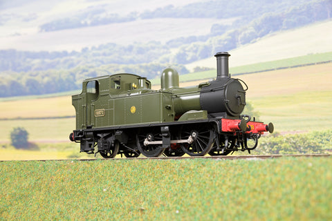 Masterpiece Models 7mm Finescale O Gauge GWR 48XX 0-4-2T '4871', DCC Sound
