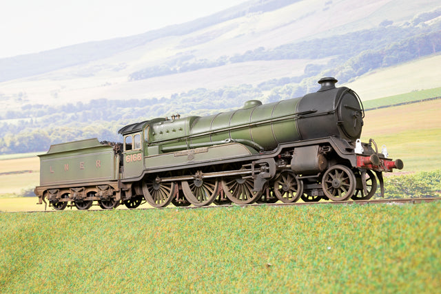 Kit Built Finescale O Gauge LNER Ex. GCR B3 4-6-0 '6168' 'Lord Stuart of Wortley', Weathered