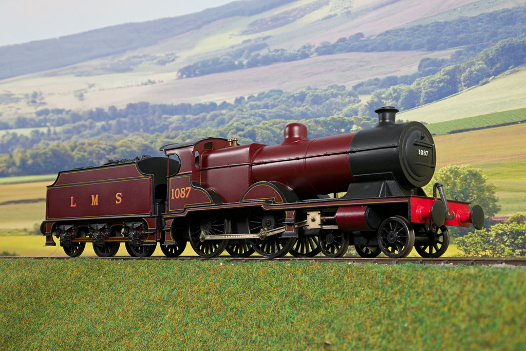 Scratch Built Finescale O Gauge LMS Midland Compound 4-4-0 '1087'