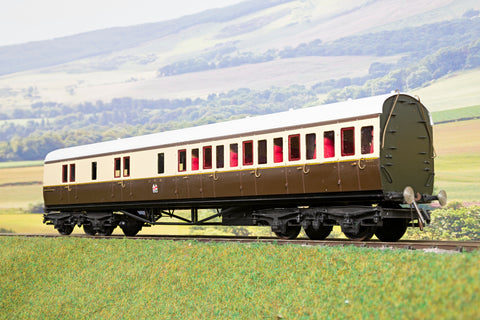 Kit Built 7mm Finescale O Gauge GWR Collett Brake Second Coach '4501'