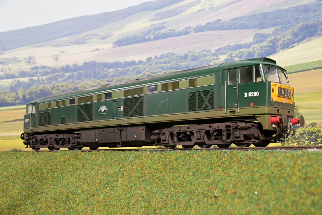 Heljan 7mm Finescale O Gauge 5351 Class 53 D0280 GSYP Falcon, DCC Sound & Weathered
