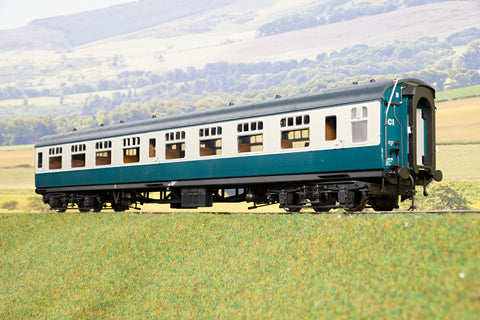 Heljan Finescale O Gauge 4912 BR Mk1 SO (Second Open), Blue & Grey