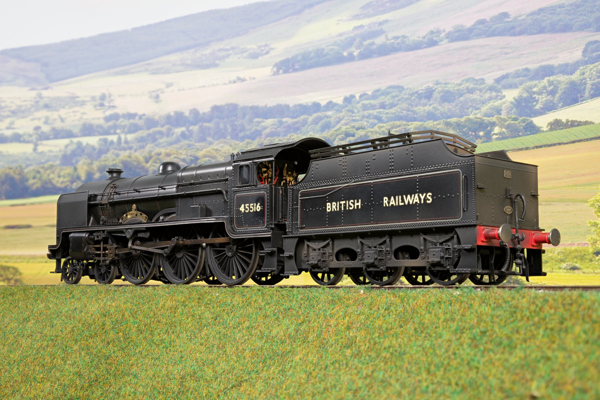Sancheng/Finescale Brass 7mm Finescale O Gauge BR Mixed Traffic Patriot '45516 'The Bedfordshire and Hertfordshire Regiment', Weathered