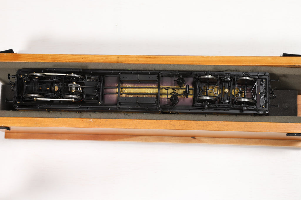 David Andrews Kit Built 7mm Finescale O Gauge LNWR Steam Railmotor