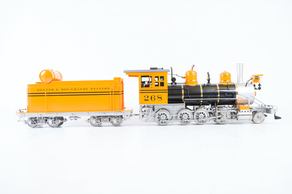Accucraft 1:20.3 G Scale (45mm Gauge) D&RGW 2-8-0 '268'