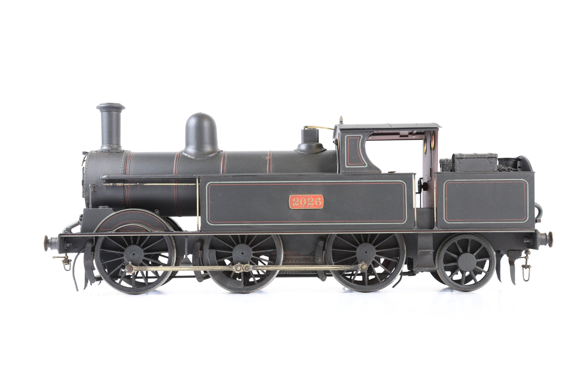 Geoff Holt 10mm Gauge 1 LMS 0-6-2T Coal Tank '2026', Weathered