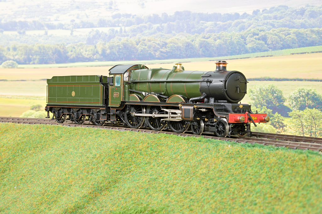 Masterpiece Models 7mm Finescale O Gauge GWR Lined Green Castle Class 4-6-0 '5064' DCC Sound!