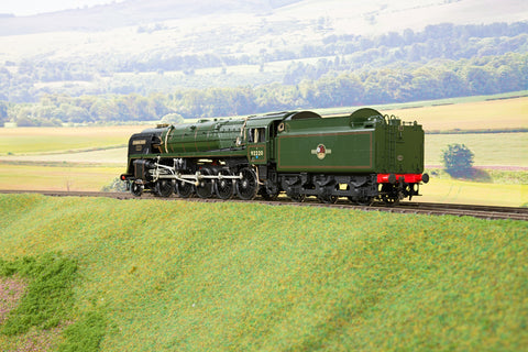 55H 7mm O Gauge Finescale BR Standard 2-10-0 9F '92220' 'Evening Star', BR Green Late Logo