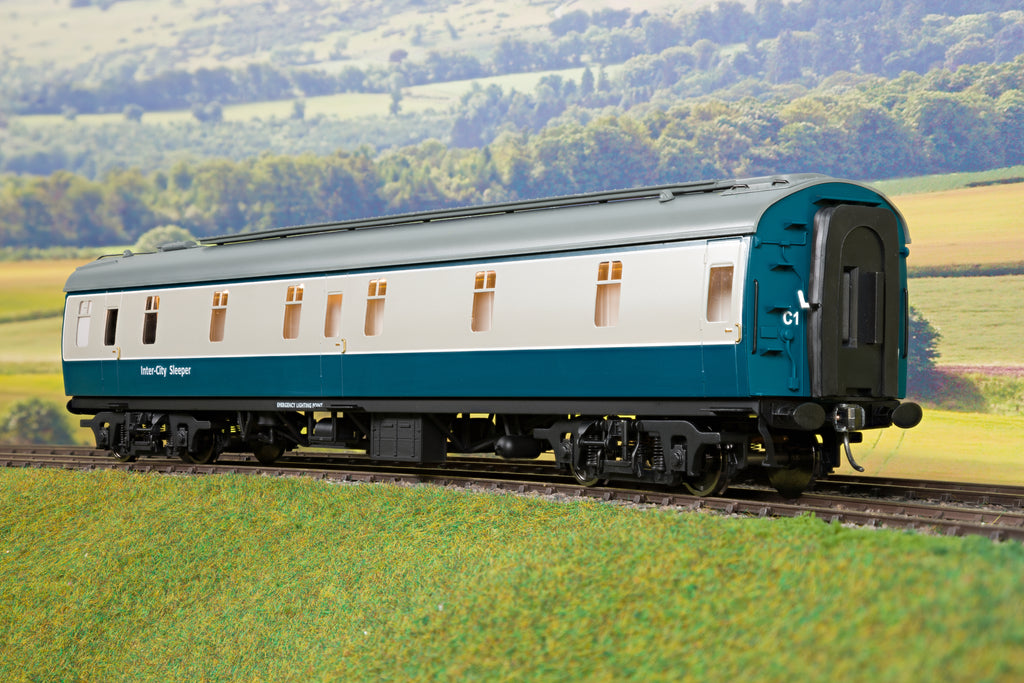 Darstaed 7mm O Gauge Finescale Blue & Grey BR Mk1 SLF/S (Sleeper First/Second)
