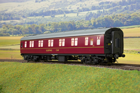 Darstaed 7mm O Gauge Finescale Maroon BR Mk1 SLF/S (Sleeper First/Second)