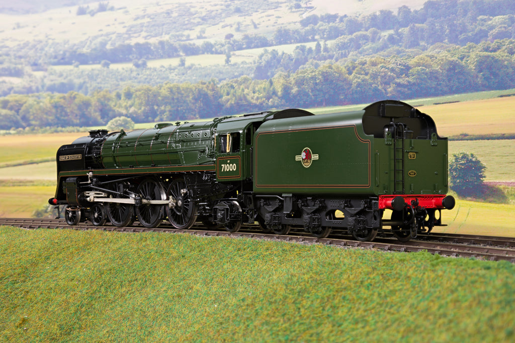 55H Finescale O Gauge BR Lined Green Standard Class 8 4-6-2 '71000' 'Duke of Gloucester'