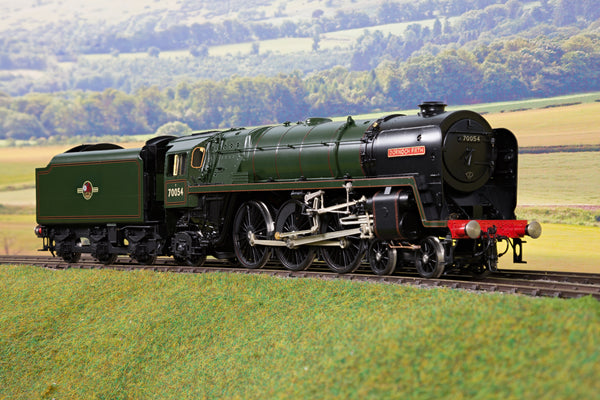 55H 7mm Finescale O Gauge BR Lined Green Britannia Class 4-6-2 '70054' 'Dornoch Firth'