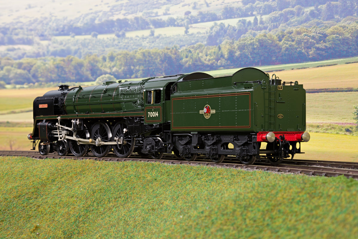 55H 7mm Finescale O Gauge BR Lined Green Britannia Class 4-6-2 '70014' 'Iron Duke'