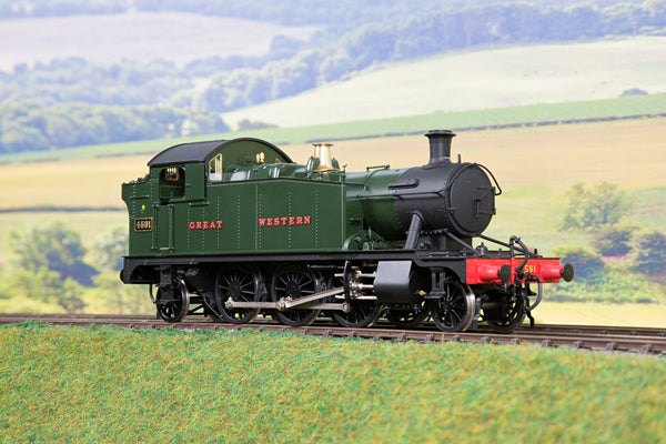 Masterpiece Models 7mm Finescale O Gauge GWR Green 4575 Class 2-6-2T '4591'