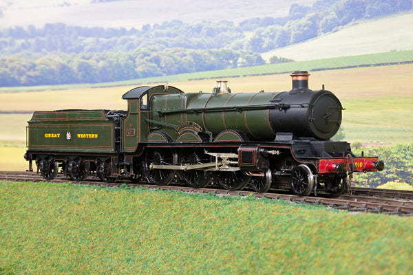 7mm Finescale O Gauge Kit Built GWR Lined Green Star Class 4-6-0 '4010' 'Western Star'